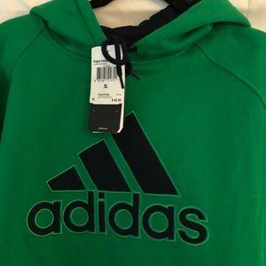 adidas Kelly green rogue  hoodie NWT